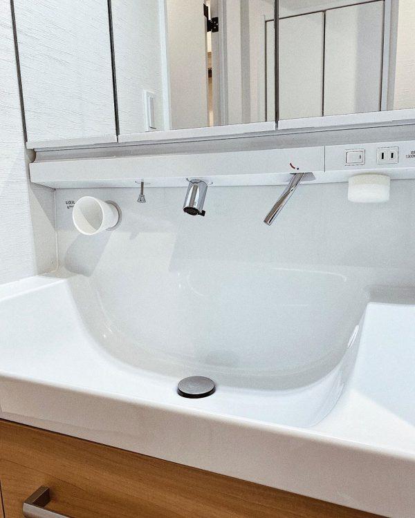 洗面所 収納アイデア2