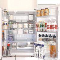 冷蔵庫の整理整頓レッスン♪スッキリした状態をキープできるアイデア満載☆