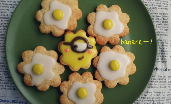 可愛いキャラクタークッキーの作り方♪5