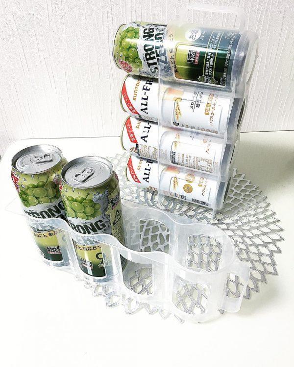 ダイソーの缶ホルダー