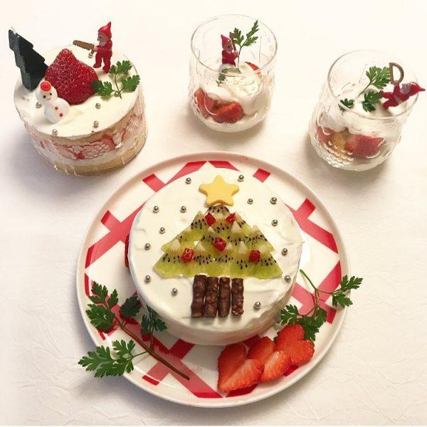 クリスマスの手作りにおすすめ!ツリーデコケーキ