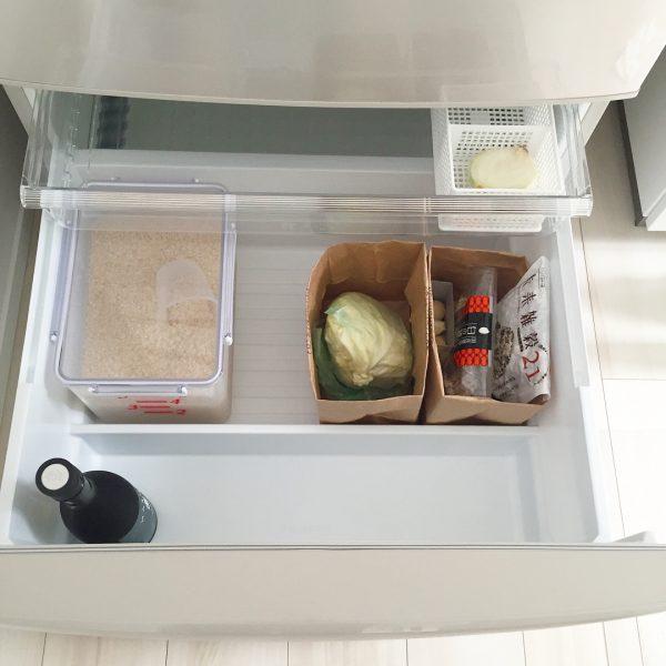 冷蔵庫の野菜の保存に