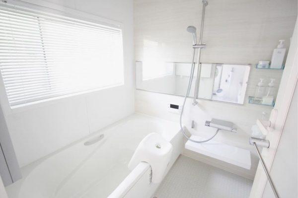 汚れない工夫が満載のバスルーム