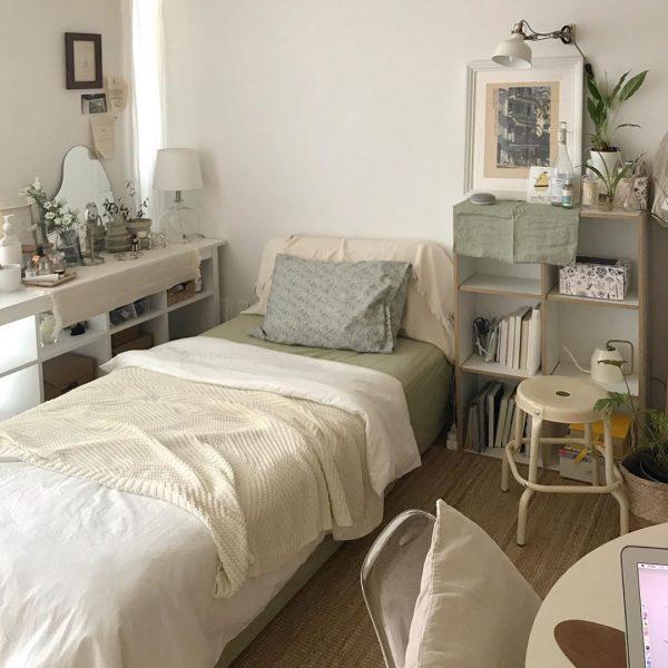 狭い可愛い部屋のアイデア 統一感3