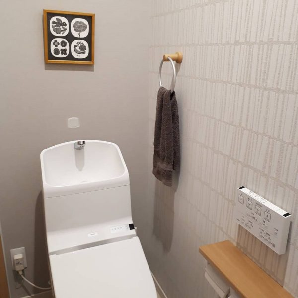 トイレ インテリア ナチュラル1