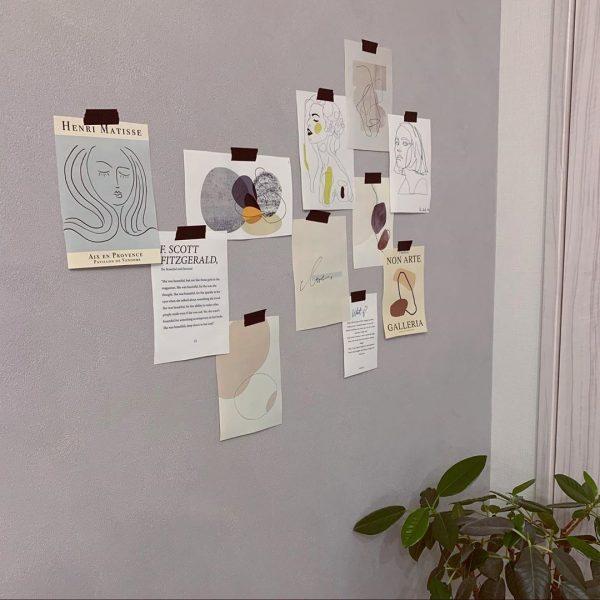 壁面ディスプレイアイデア8