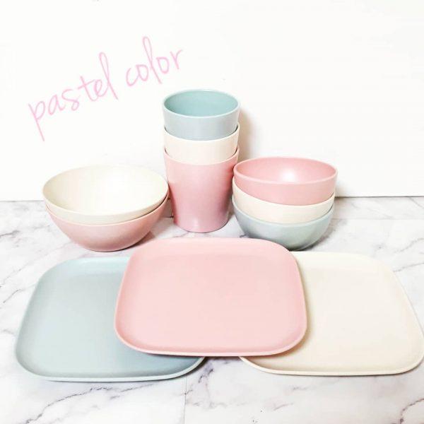 セリアでおすすめ!ピンク色の食器