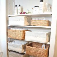 フェイスタオルの収納アイデア特集!洗面所がおしゃれ&すっきりする方法を大公開!
