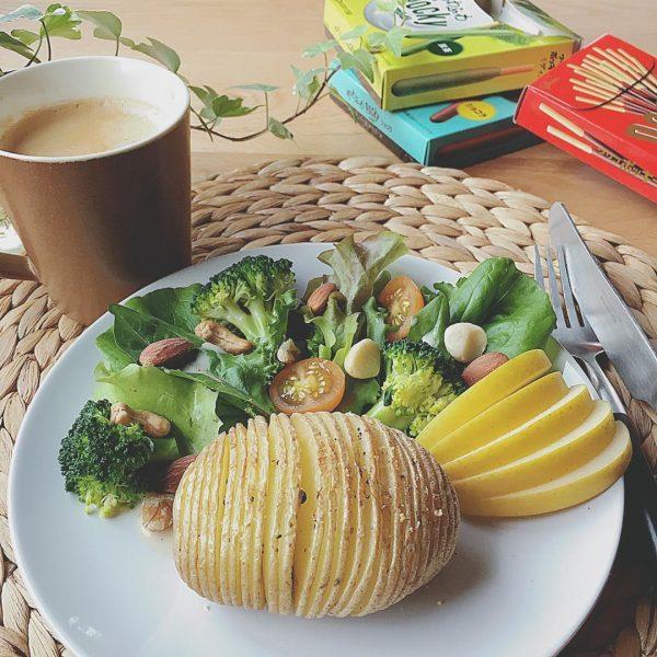 おしゃれな野菜だけレシピ!ハッセルバックポテト