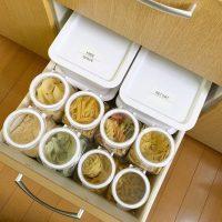 【セリア・無印良品etc.】でできるムダなしすっきり食材保存・ストック保管