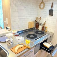 限られたスペースを無駄なく使いたい♪《一人暮らしのキッチン》収納アイデア