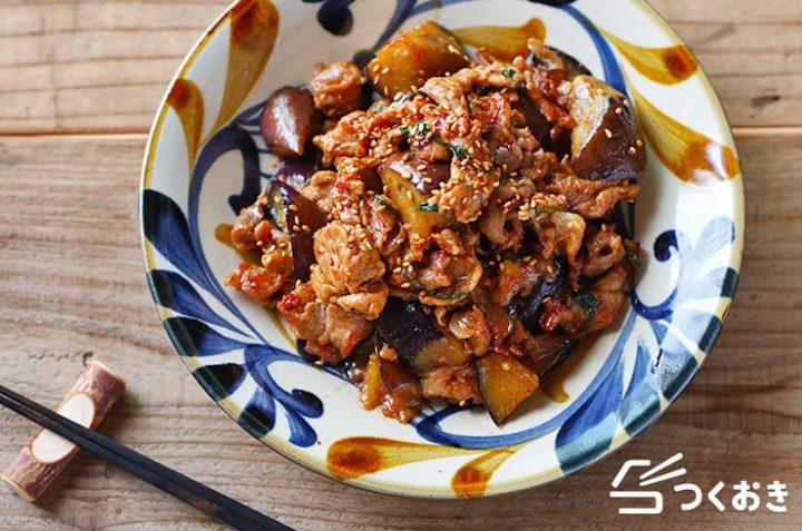 10分で簡単早いレシピ!なすと豚肉の青じそ炒め