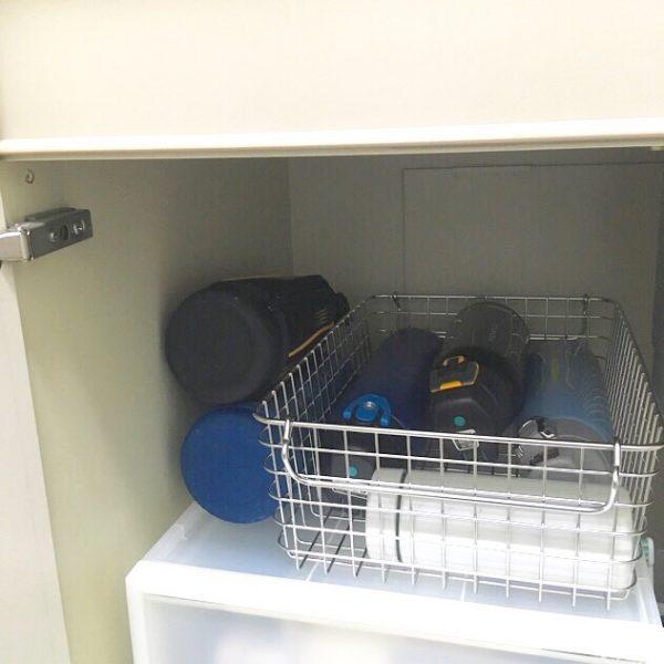 水筒の収納アイデア5