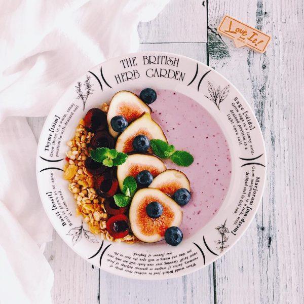フルーツと豆腐のスムージー