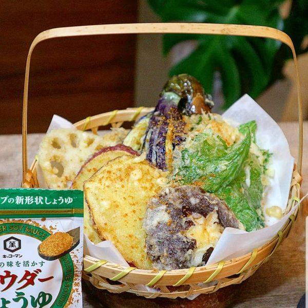 野菜だけでも豪華なレシピ!天ぷら