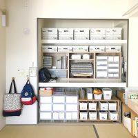 収納棚を活用した押し入れ収納アイデア集!和室をすっきり&おしゃれに整理整頓♪