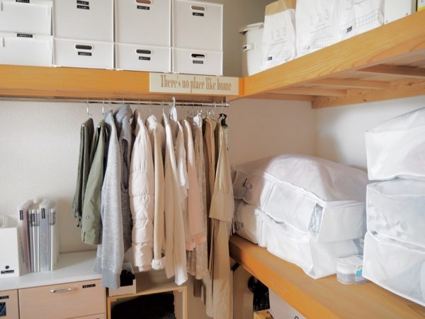 ニトリアイテムで布団の整理と収納をするアイデア