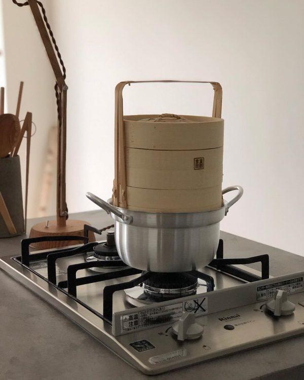 ヘルシーな蒸し料理を楽しめる蒸籠