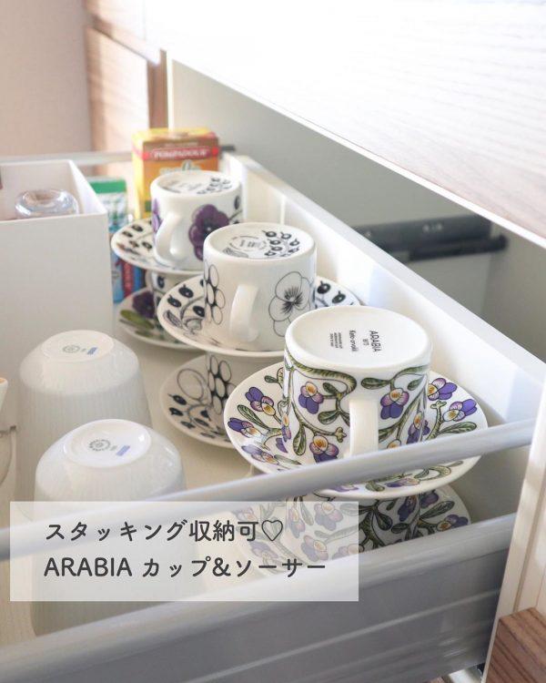 マグカップやグラスの収納アイデア10