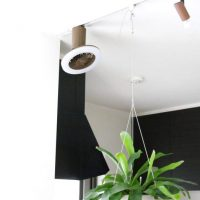 扇風機とLEDライトが融合!シーリングファンライト「UZUKAZE mini」
