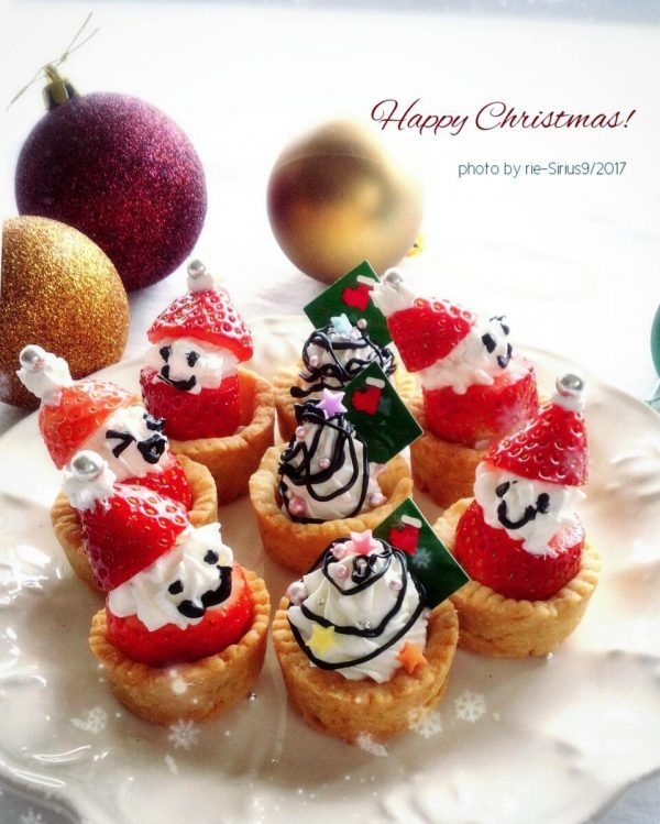 クリスマススイーツの簡単レシピ!ミニタルト