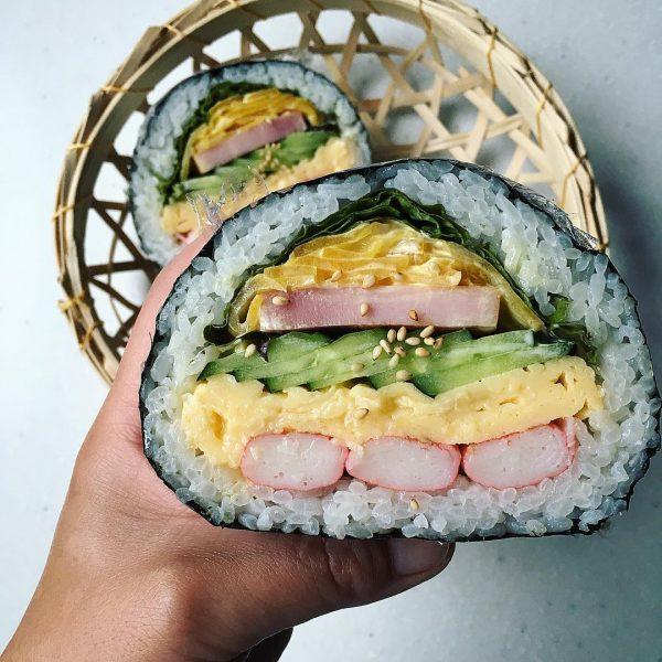 おにぎらずの人気レシピ《野菜・サラダ風》3