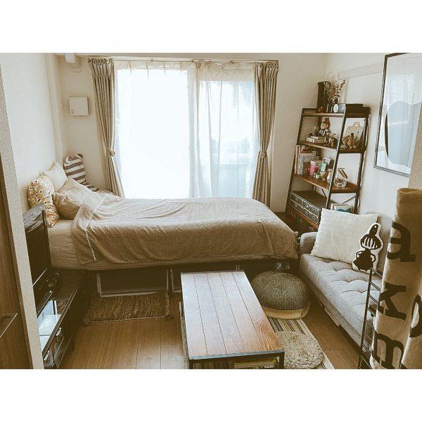 狭い可愛い部屋のアイデア 配置順3
