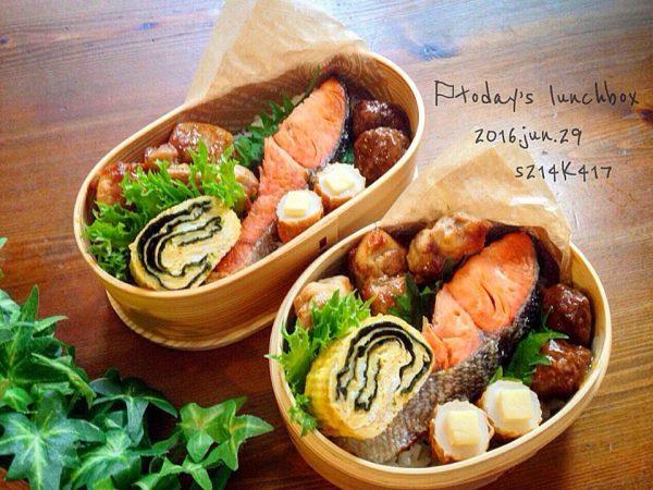 簡単で美味しい!鮭弁当
