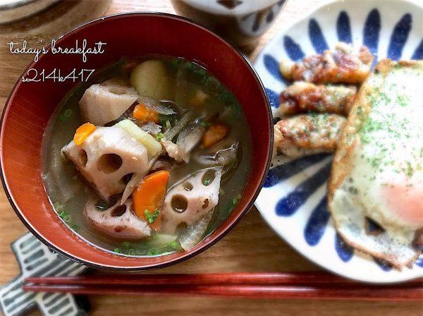 野菜だけの味噌汁レシピ!けんちん汁