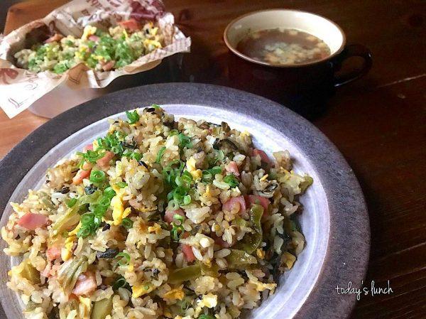 冷やご飯の簡単チャーハンレシピ!3