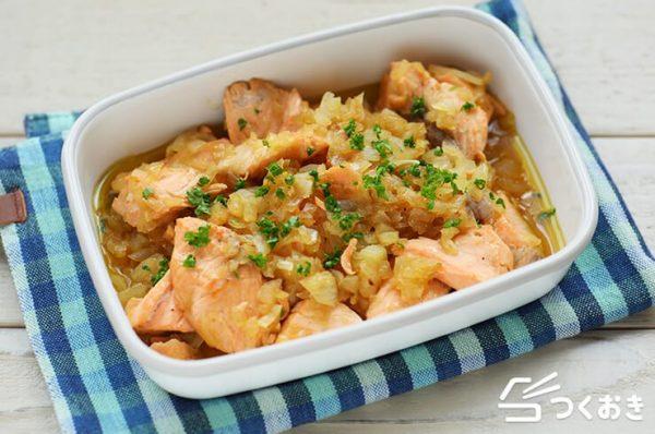 ダイエットにおすすめの簡単お弁当☆魚介5