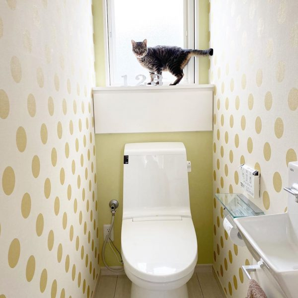 トイレ インテリア ナチュラル2
