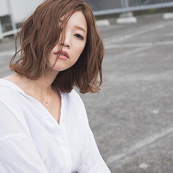 40代女性の髪型×パーマ【ボブ】4
