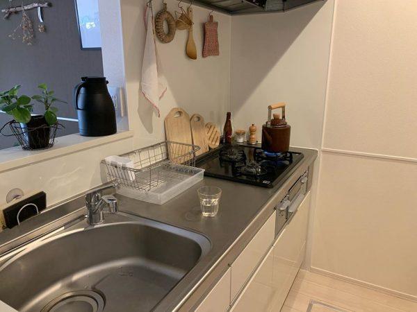 一人暮らし キッチン 収納8