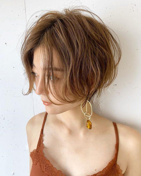 くせ毛さん×ショートヘア【前髪なし】3