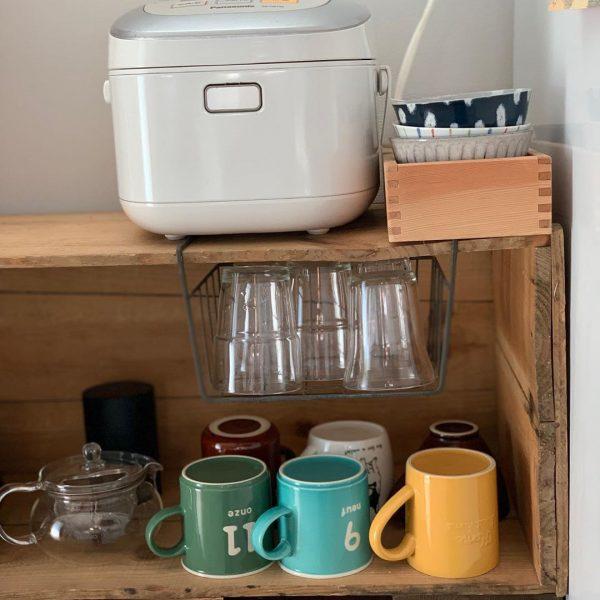 グラス&マグカップ収納アイデア6