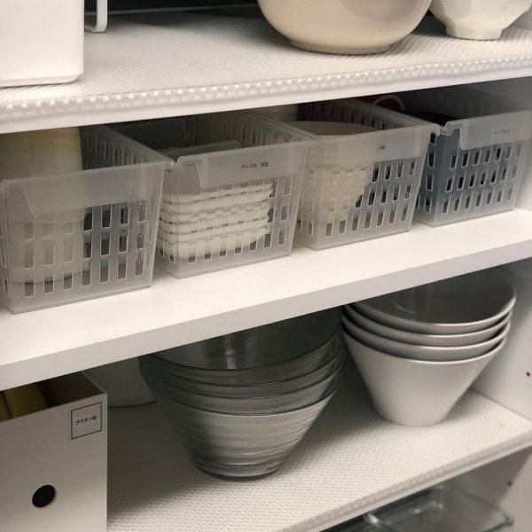 食器棚の引き出し収納《平置きアイデア》6