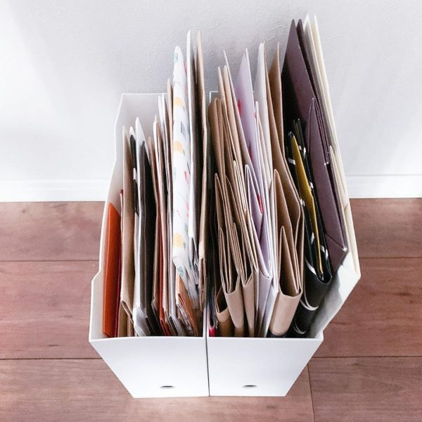 ファイルボックスを使って整理する