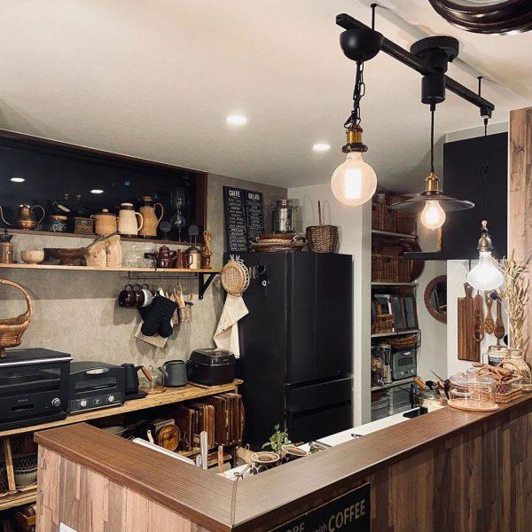 キッチン 背面 吊るす 収納3