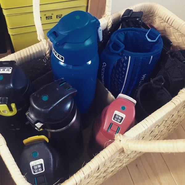 水筒の収納アイデア