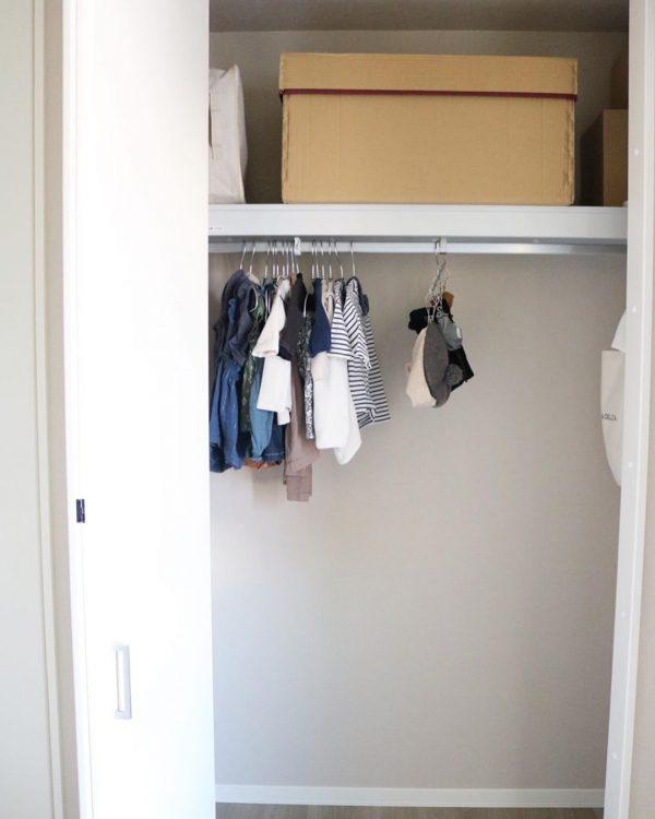 ベビー服の収納16