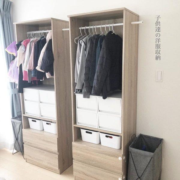 ベビー服の収納20