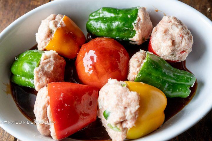 カラフルピーマン 肉詰め レシピ11