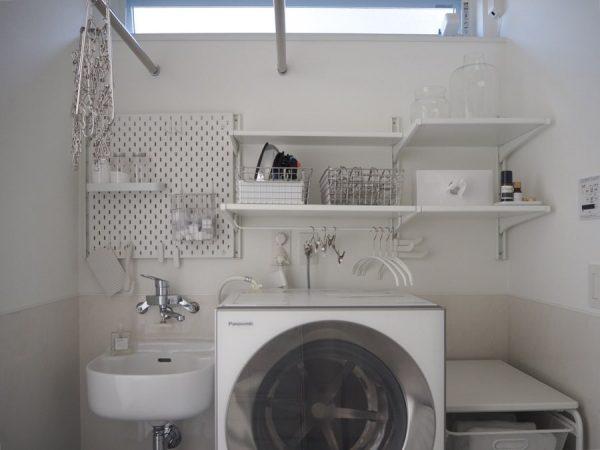 洗濯機周りの収納2