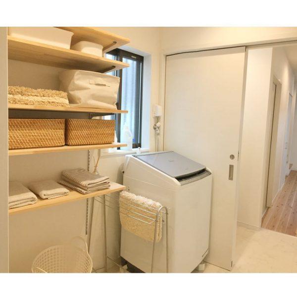 洗濯機周りの収納3