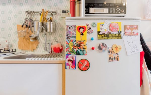 元気が出る冷蔵庫デコレーション