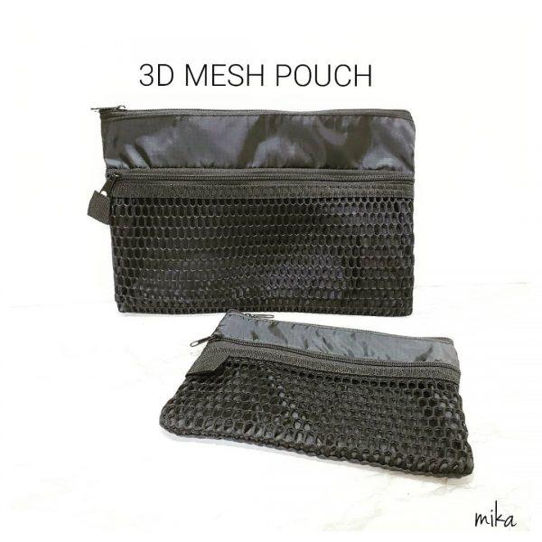 3Dメッシュポーチ