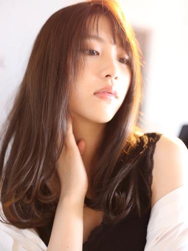 毛量が少ない女性に似合う髪型【ロング】4