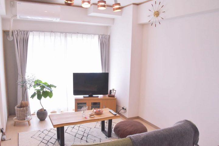小さなリビングに合わせて選ぶ家具