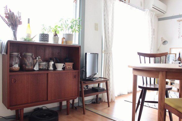 和のテイストに、北欧家具を組み合わせて3